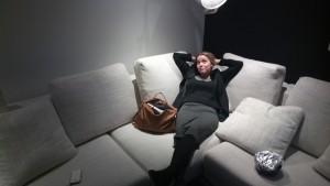 Lisanne Mandos in de Chillroom? Wat een luxe zeg..... ff chillen!