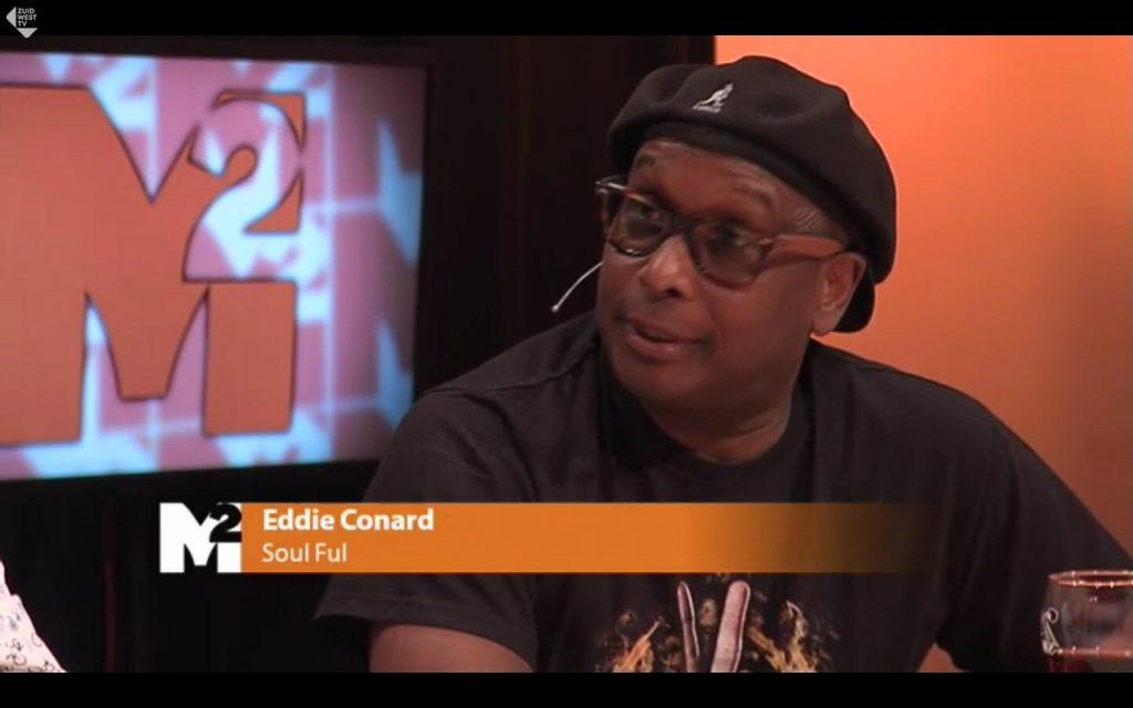 Eddie in de talkshow M2 van ZuidwestTV